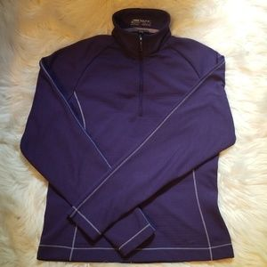 Nike Size Small Purple Long Sleeve Pull Over